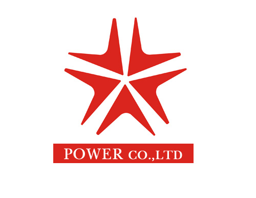 (주)파워<br />POWER CO.,LTD LOGO