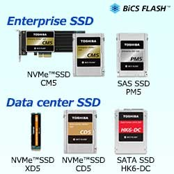 SSD For Enterprise and Data Center IMAGE